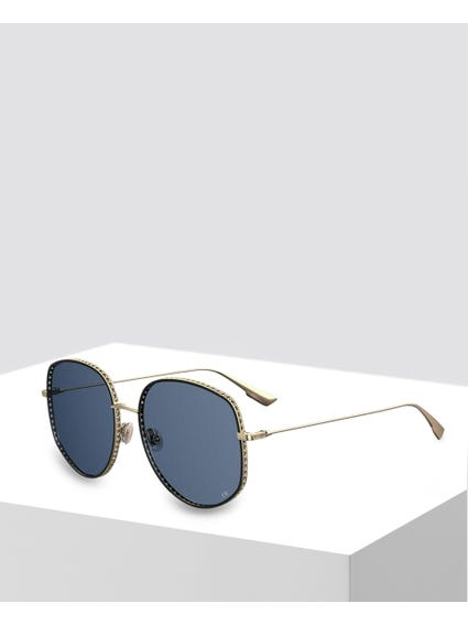 Yellow Diorbydior2 Sunglasses