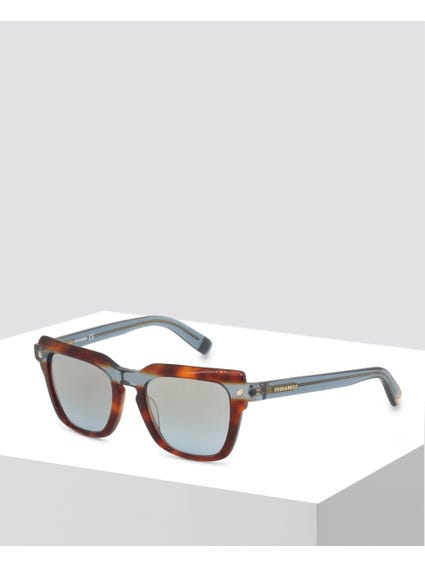 Brown Two Tone Sunglasses