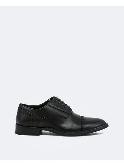 Black Drake Bitexture Oxford Shoes