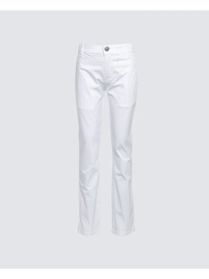 White Plain Kids Jeans