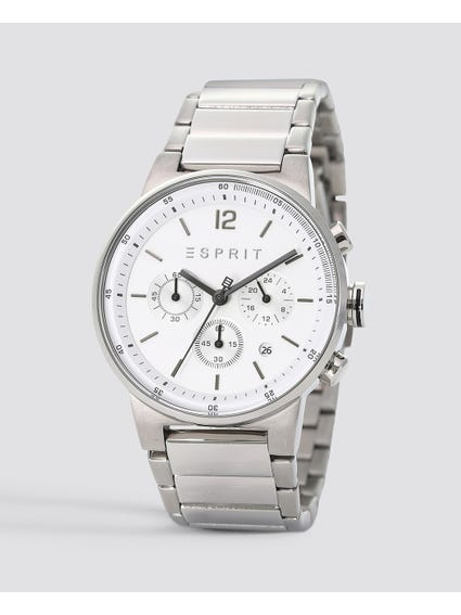 Silver Equalizer Stainless Steel Watch