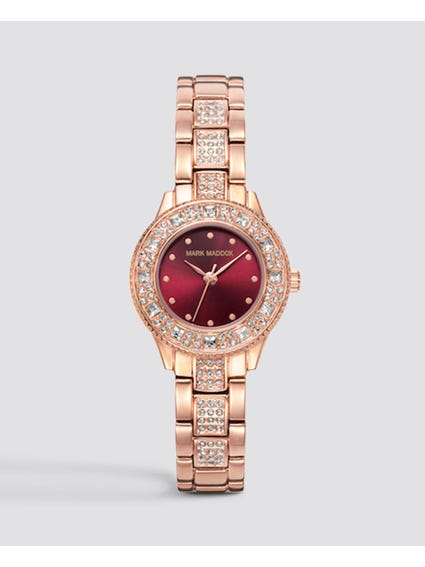 Crystal Embellished Analog Watch