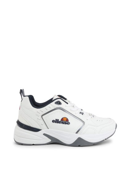 White Blue Stabilizer Sneakers