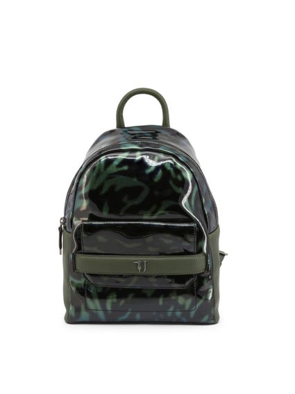 Green Paprica Glossy Zip Backpack