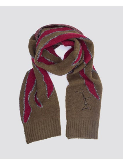 Pattern Knitted Soft Scarf