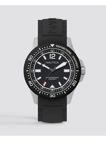 Black Mau Sport Watch