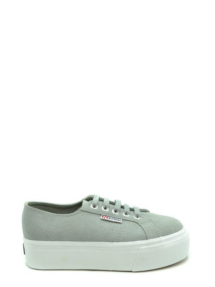 Suede High  Sole Sneakers
