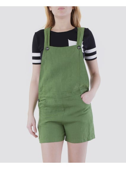 Green Pocket Jumpsuit