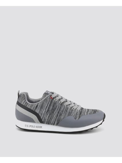 Grey Flash stripes Sneakers