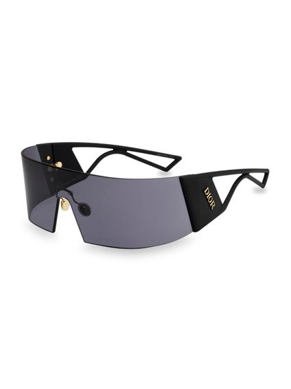 Black Kaleiorscopic Acetate Sunglasses