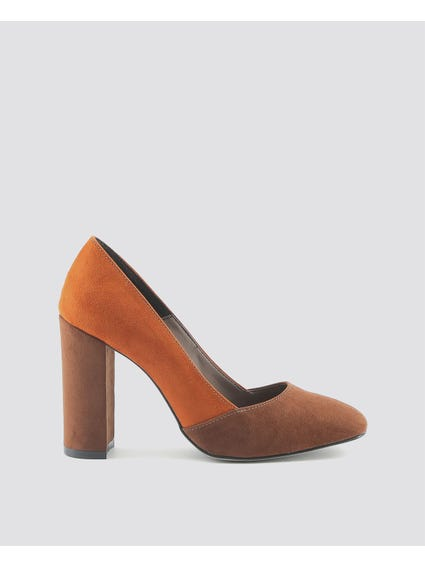 Brown Giana Pumps