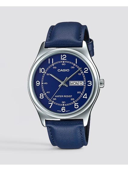Blue Leather Enticer Watch