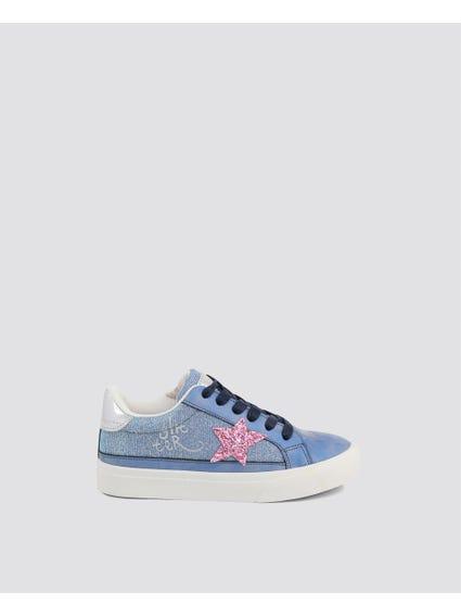Bue Glitter Kid Sneakers