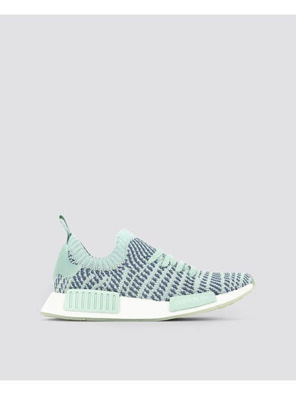 Blue NMD R1 STLT Primeknit Shoes