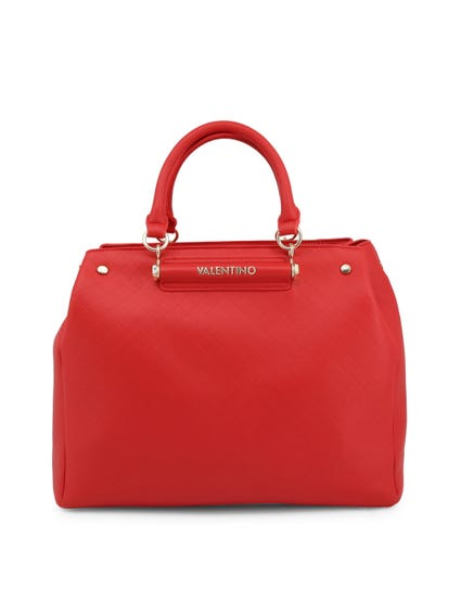 Red Tritone 2 Handles Depth Handbag