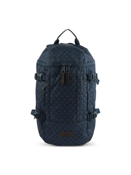 Blue Zip Pattern Topfloid Backpack