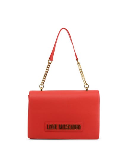 Red Classic Chain Shoulder Bag