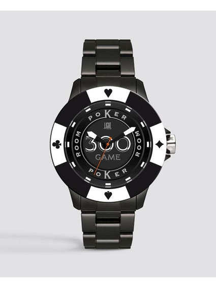 Black Poker Quartz Watch