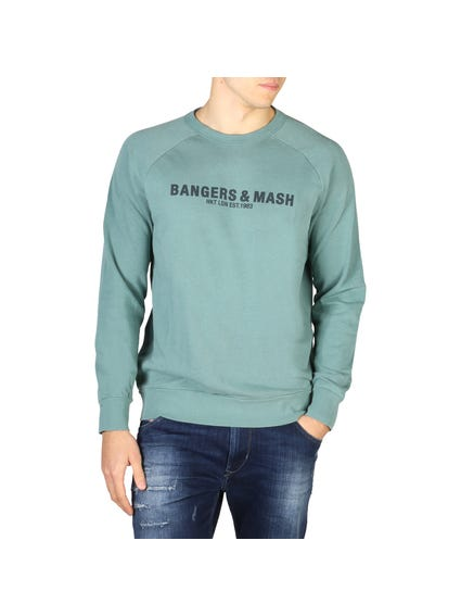 Crew Neck Long Sleeve Pullover Sweatshirt