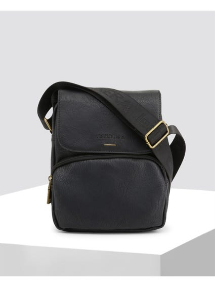 Black Underground Crossbody Bag