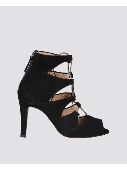 Estelle Mid Heel Sandals