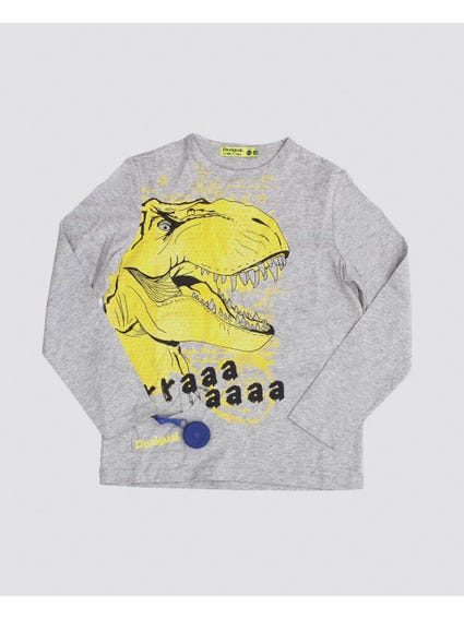 Dinosaur Long Sleeves Kids Top
