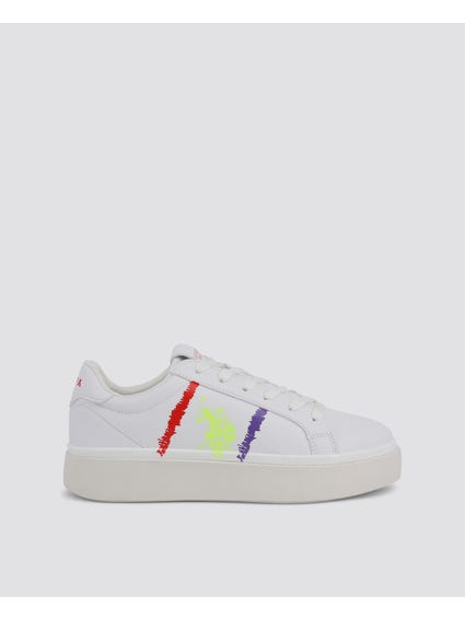 White Lucy Sneakers