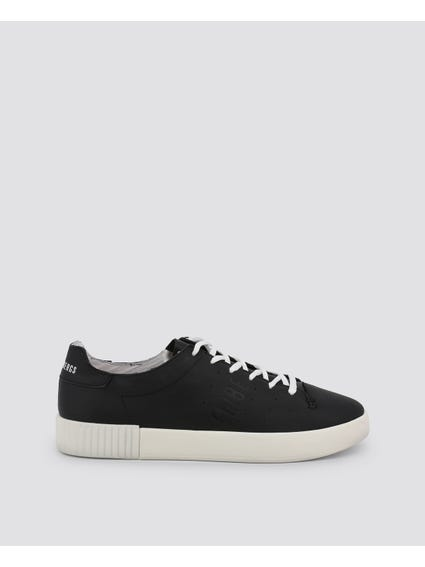 Black Cosmos Lace Up Sneakers