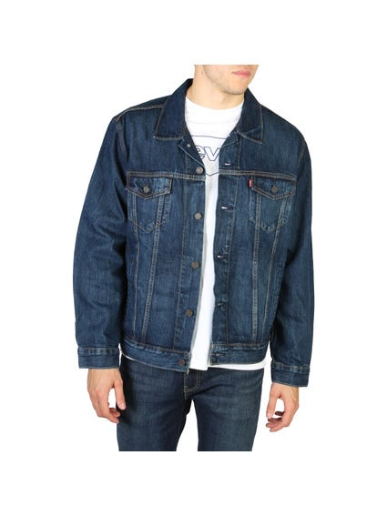 Front Buttons Denim Jacket