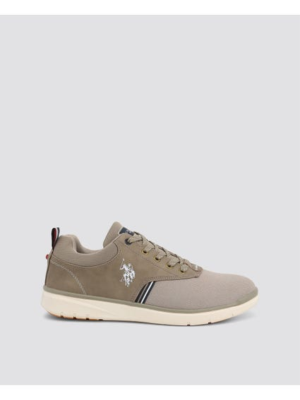 Brown Ygor Pull Tab Sneakers