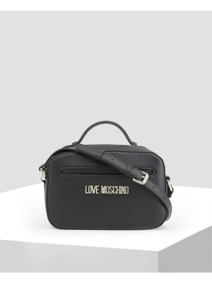Black Classy Leather Crossbody Bag