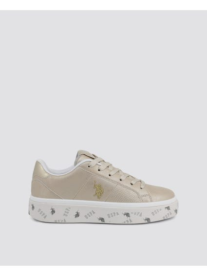 Brown Lucy Low Top Sneakers