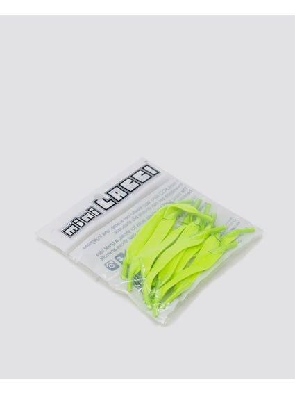 Neon Green Quick Shoe Lace