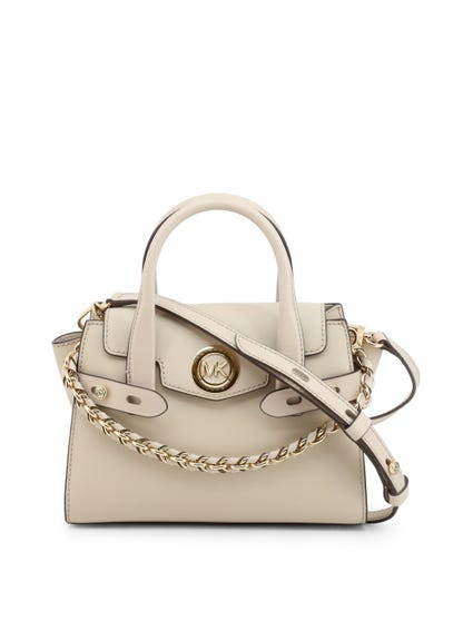 White Magnetic Handbag