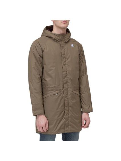 Hooded Long Hem Full Zipper Jacket