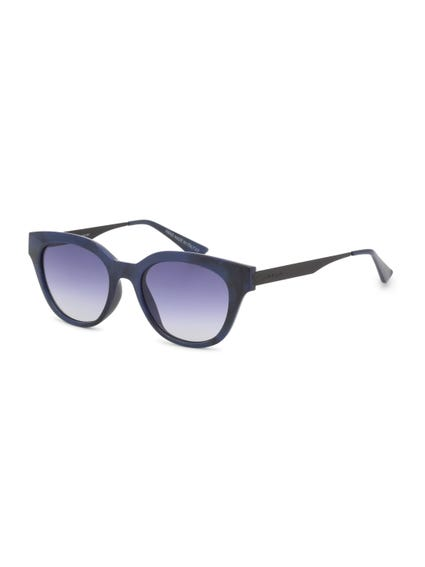 Blue Black Vintage Le Club Sunglasses
