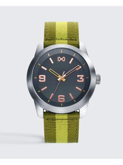 Nylon Strap Analog Watch
