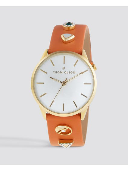Gypset Peach Bohemian Watch