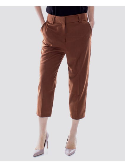 Brown  Wide Trousers