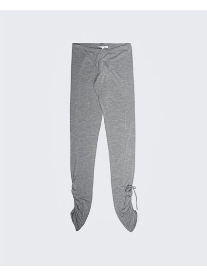 Grey Casual Kids Leggings