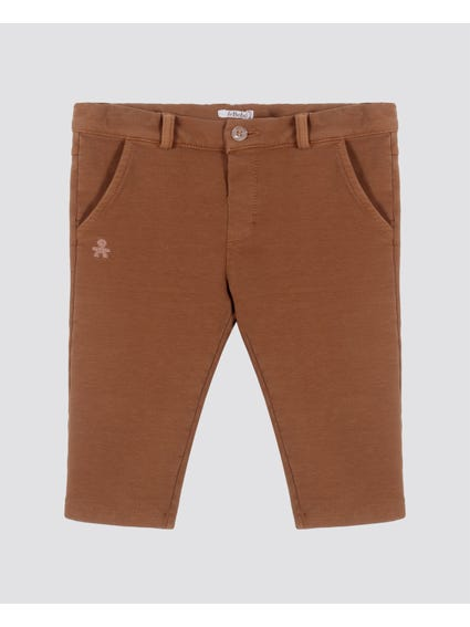 Pocket Elastic Waist Kids Trouser