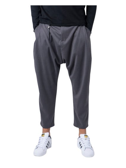 Grey Low Rise Mayhem Trouser