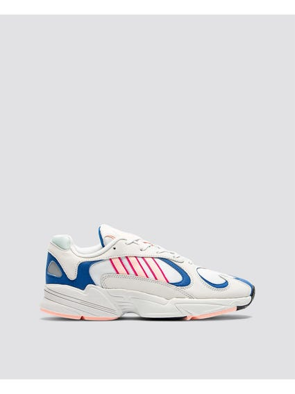 Blue Overlay Yung-1 Shoes