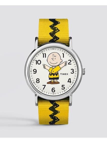 Weekender Timex x Peanuts Charlie Brown Watch
