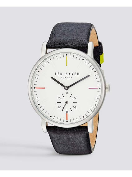Nolan White Dial Analog Watch