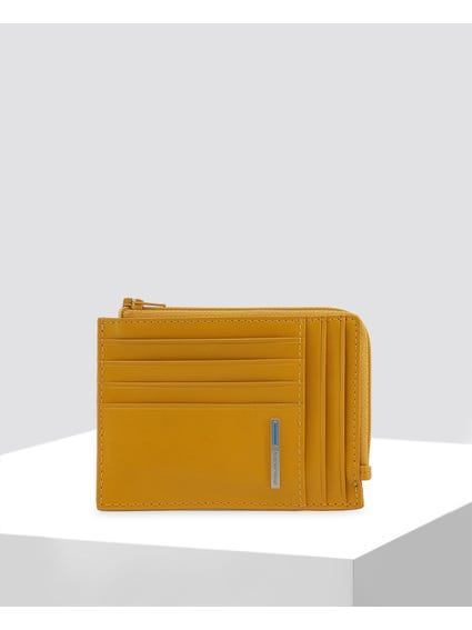 Yellow Credit Card Holder