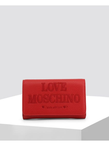 Red Made Love Clutch Bag