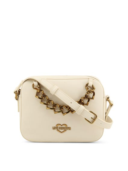 White Chain Crossbody Bag