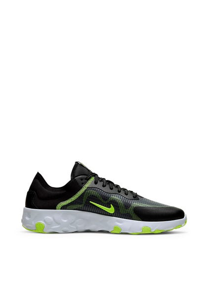 Black Renew Lucent Sneakers