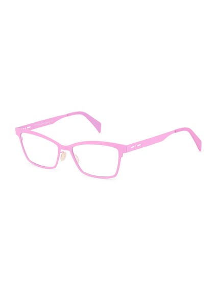 Pink Metal Frame Bikers Eyeglass